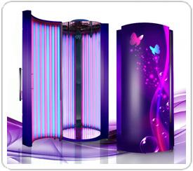 Вертикальный турбо-солярий SolarisPro