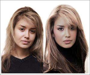 Тонирование, Изменение цвета волос