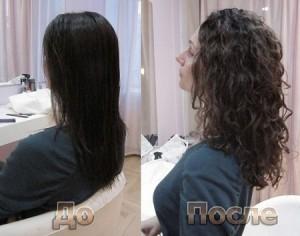 Биологическая завивка волос